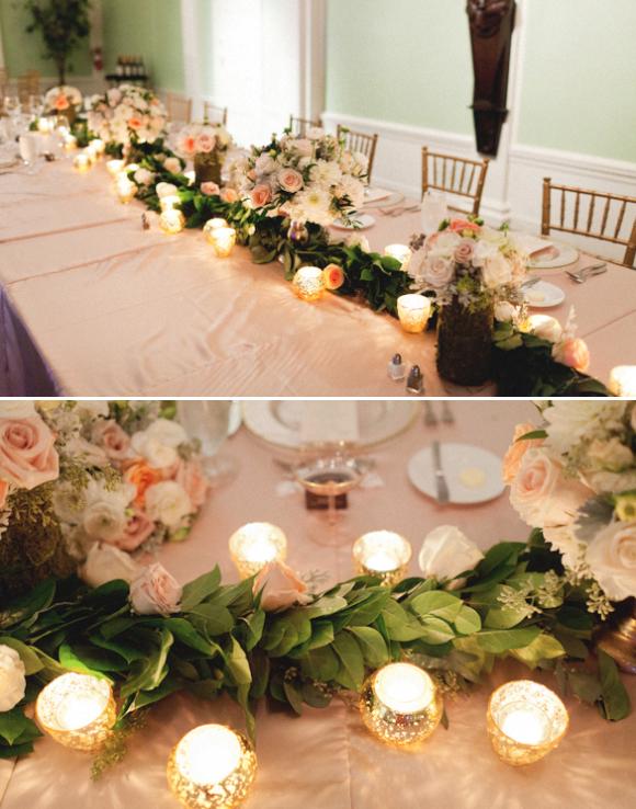 Head Table Florals & Garlands (1)