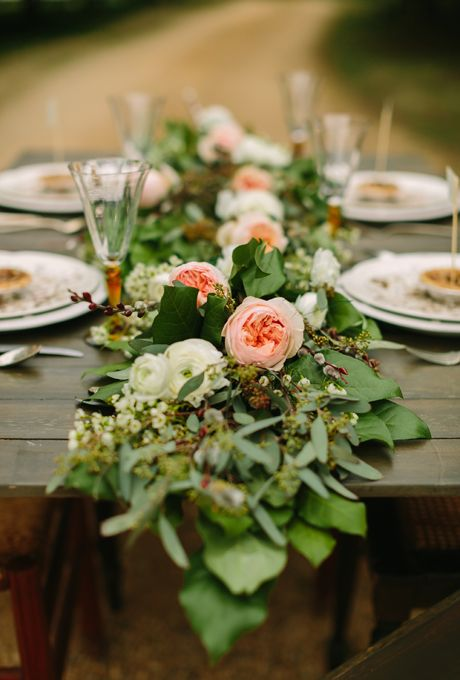 Head Table Florals & Garlands (7)