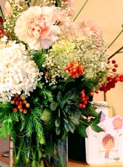 Hoa bàn tiệc