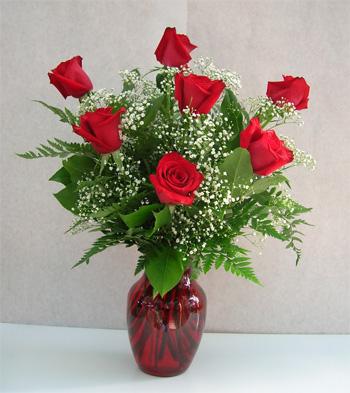 7 bông hoa hồng